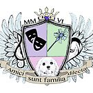 Glitter Family Crest - Color by anniemgo