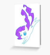 Pointy Rarity Greeting Card