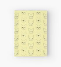 French Geometry Dark Hardcover Journal