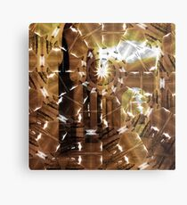 Fractured History Metal Print