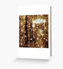 Fractured History Greeting Card