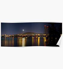 Columbia River I 5 Bridge Poster