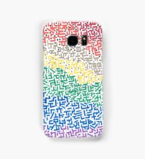 Spectrum - Mixed Media Painting Samsung Galaxy Case/Skin