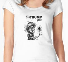 Temper TanTrump Women's Fitted Scoop T-Shirt