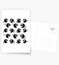 Chain CHOMP! White BG  Postcards