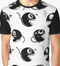 Chain CHOMP! White BG  Graphic T-Shirt