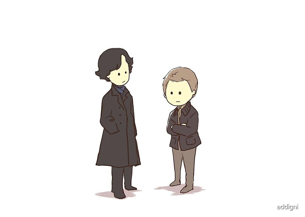 Sherlock and John by addigni