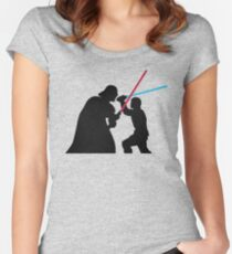 Star Wars Galaxy of Heroes Women's Fitted Scoop T-Shirt