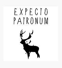 Expecto Patronum tw Photographic Print