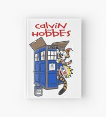 calvin and hobbes police box  Hardcover Journal