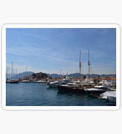 Marmaris Yachting Marina - Netsel Sticker