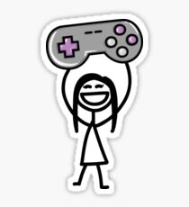 Gamer girl Sticker