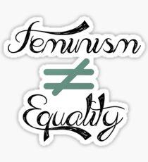 Inequality Sticker