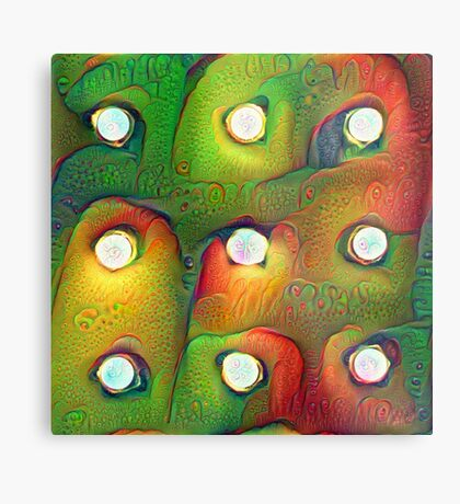#DeepDream Lights 5x5K v1450982016 Metal Print