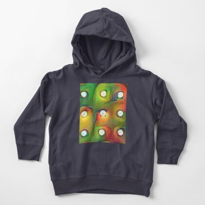 #DeepDream Lights Toddler Pullover Hoodie