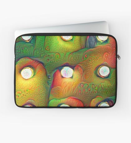 #DeepDream Lights 5x5K v1450982016 Laptop Sleeve