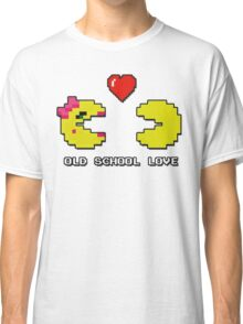 Old School Love - Ms. Pacman and Pac Man - Act I / Act One Classic T-Shirt