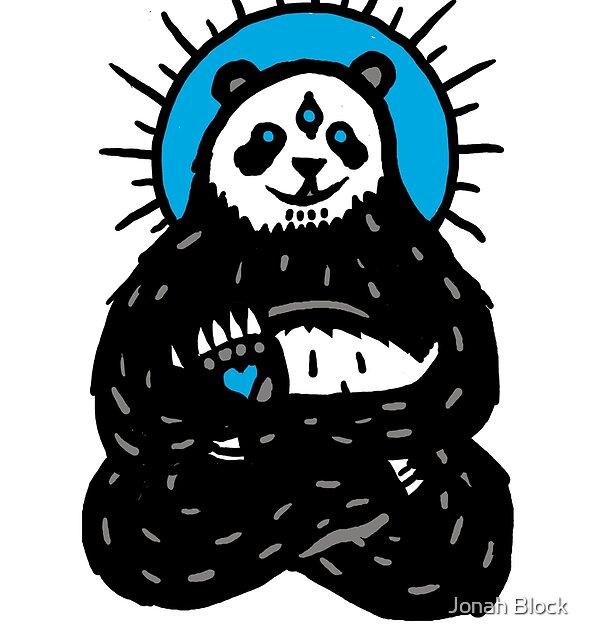 Spirit Panda by Jonah Block