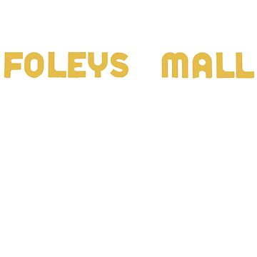Foleys mall - yellow by mcdf