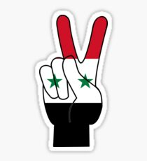 Peace Syria sign Sticker