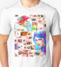 Womans abstract Unisex T-Shirt