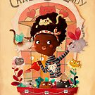 Crazy Cat Lady and her plants by colonelle
