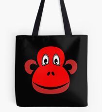Cheeky Chimp Red Tote Bag