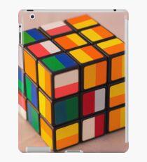Cube puzzle iPad Case/Skin