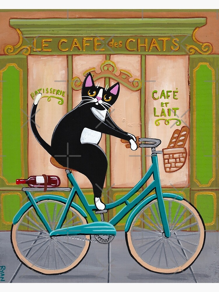 Bicycle Bread Run Cat  by kilkennycat