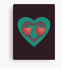 HEART 2 HEART Canvas Print