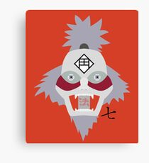 Chikamatsu's Collection of Ten Puppets 7 Canvas Print