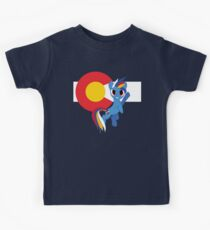 Blue Demon Horse of DIA Kids Clothes
