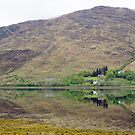 Scottish Loch and Reflection by Sue Robinson