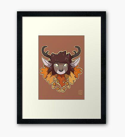 Faun Framed Print