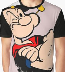 Popeye The Sailor Graphic T-Shirt