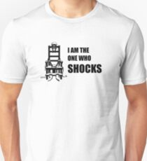Electric Chair - I Am The One Who Shocks T-Shirt