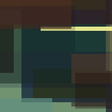 Hopper: Nighthawks (computer-generated abstract version) by flatfrog00