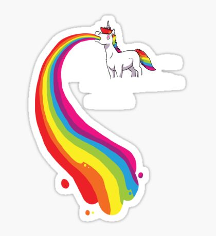 Where Rainbows Come From Sticker