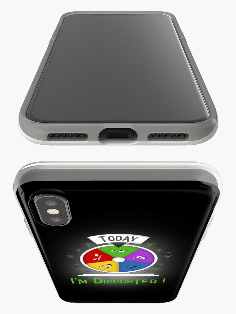 Vista alternativa de Funda y vinilo para iPhone Estoy disgustado