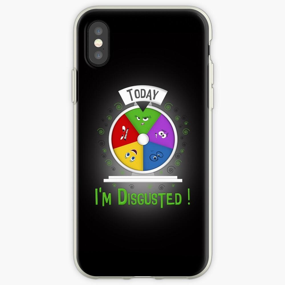 Estoy disgustado Funda y vinilo para iPhone