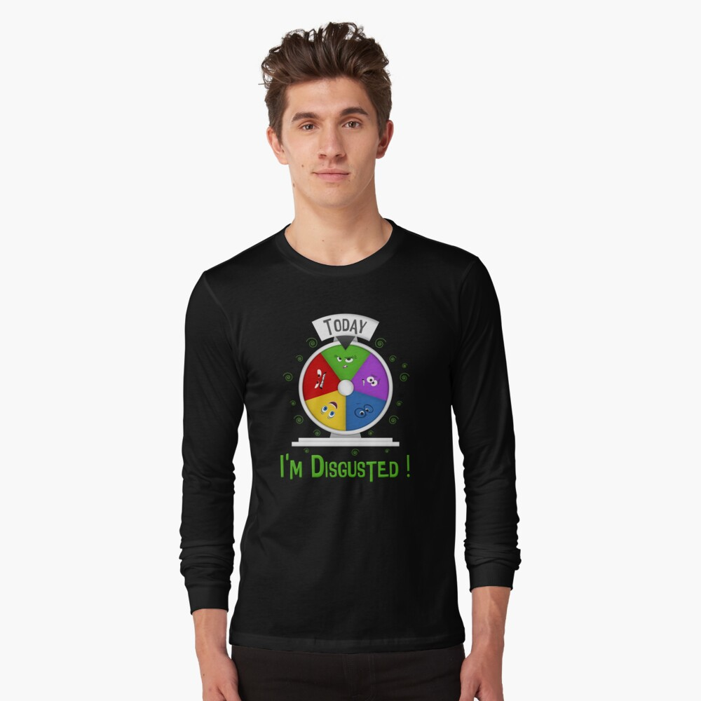 Estoy disgustado Camiseta de manga larga
