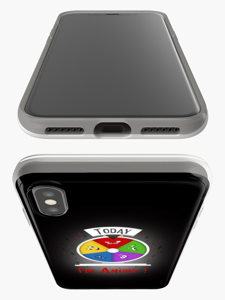 Vista alternativa de Funda y vinilo para iPhone Estoy enojado