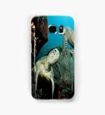 Turtle in the Ocean Samsung Galaxy Case/Skin