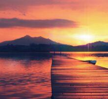 Sunset Sticker