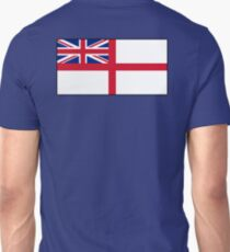 White Ensign, Flag, Royal Navy, Ships, St George's Cross, St George's Ensign, Navy, Blue T-Shirt