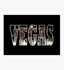 Vegas (Bellagio) Photographic Print