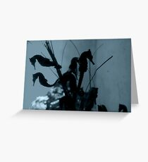 Seahore Silhouettes Greeting Card