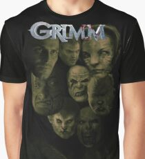 Don't Panic, I'm a Grimm.... Graphic T-Shirt
