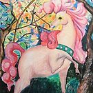 Pink Horse by SelinaScerri