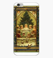 Christmas Childrens Choir Peace on Earth Vintage Holiday iPhone Case